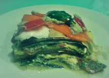 La lasagna fredda (vegetariana)